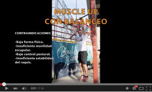 Tutorial en video de Muscle Up por Javi Salas (@jsalastrainer)