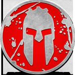 medalla de la spartan race sprint