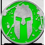 medalla de la spartan race beast