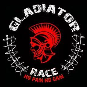 Logotipo de la carrera de obstáculos gladiator race