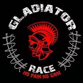 Logotipo de la carrera de obstáculos gladiator race