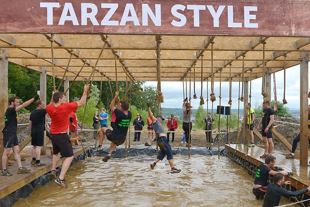 Obstáculo Tarzan Style