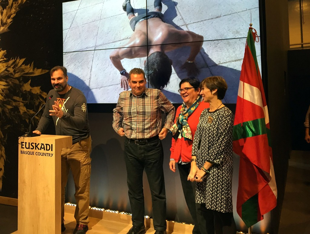 Presentación de Spartan Race Bilbao 2016