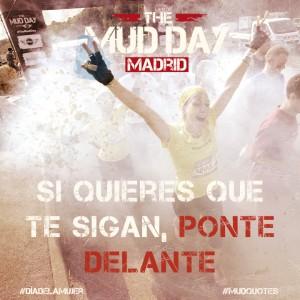 Mensaje de Mud Day para mujeres