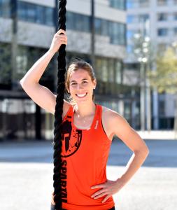 Campaña spartan race para el público femenino