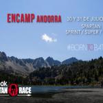 Cartel de la Spartan Race Andorra 2016