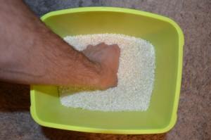 Ejercicio con arroz para mejorar el agarre en carreras de obstáculos Javier Salas Jorge Rey