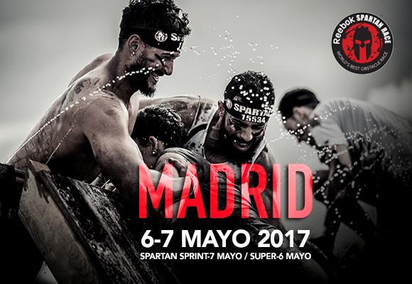 Cartel de Spartan Race Madrid 2017