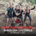 Cartel anunciador de Spartan Race Barcelona 2017