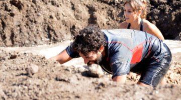 Vicente Clemente y Jorge Rey, entrenadores de carreras de obstáculos compiten en la Bestial Race de Gran Canaria