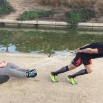 entrenamiento de arrastre con peso corporal